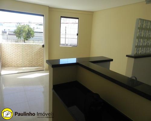 apartamento duplex para alugar com 1 suíte no centro da cidade de peruíbe. primeira locação! - ap00674 - 34005645