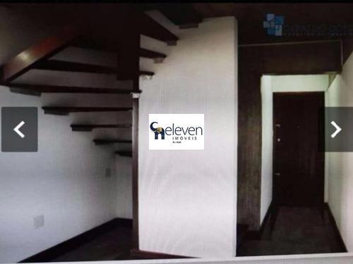 apartamento duplex para venda barris, salvador 1 dormitórios sendo 1 suíte, 1 sala, 1 banheiro, 1 vaga 70,00 útil   preço: r$ 200.000, condomínio r$ 500,00 - tjn7784 - 32026465