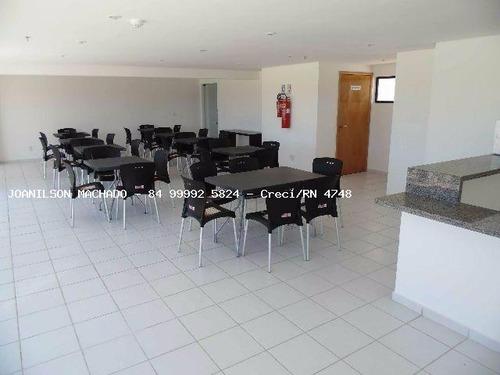 apartamento duplex para venda em natal, candelária - residencial porto arena, 3 dormitórios, 2 banheiros, 1 vaga - ap0988-porto arena loft