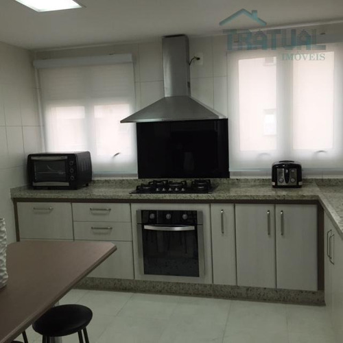 apartamento duplex  residencial para venda e locação, centro, santo andré. - ad0002
