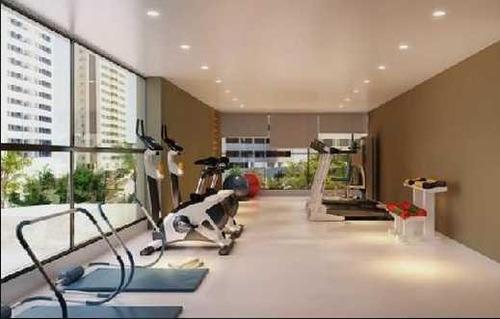 apartamento duplex residencial à venda, boa viagem, recife. - ad0011
