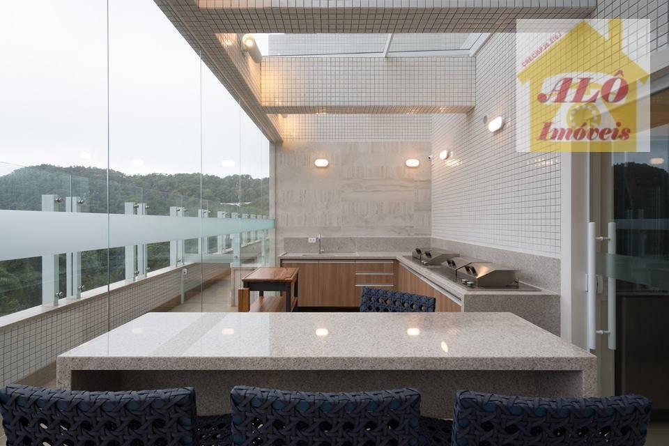 apartamento duplex residencial à venda, canto do forte, praia grande. - ad0008