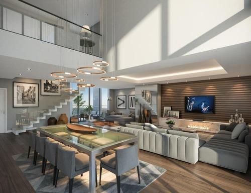 apartamento duplex residencial à venda, estrela, ponta grossa. - ad0011