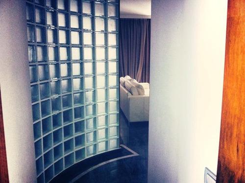 apartamento duplex residencial à venda, gonzaga, santos - bs imóveis