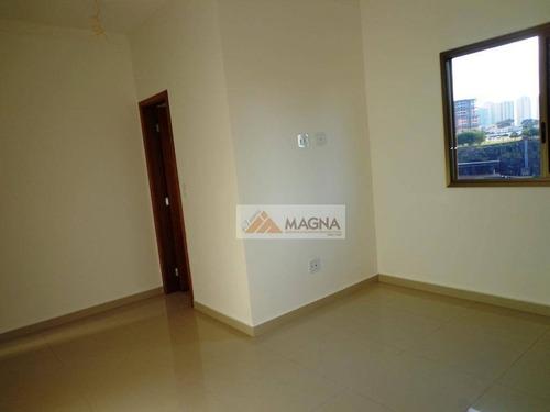apartamento duplex residencial à venda, jardim botânico, ribeirão preto. - ad0010
