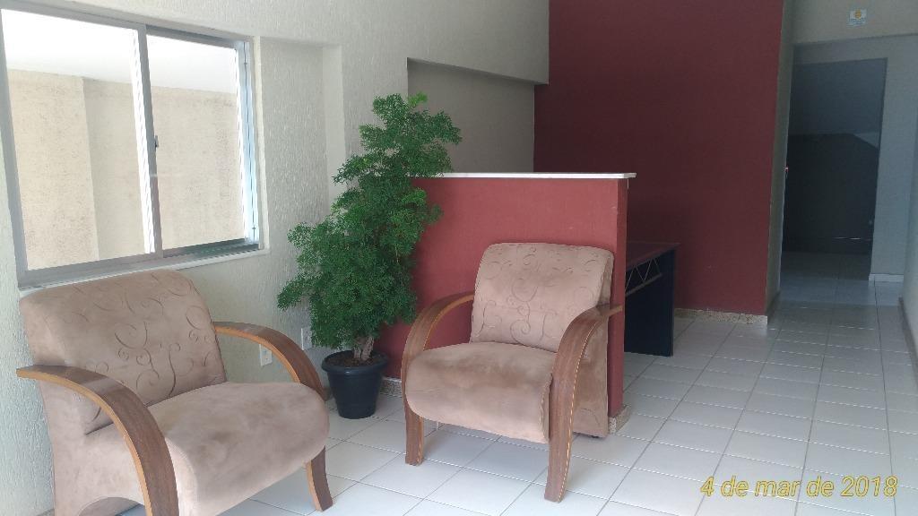 apartamento duplex residencial à venda, jardim imperial, itaboraí. - ad0019