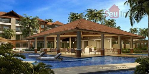 apartamento duplex residencial à venda, porto das dunas, aquiraz. - ap0769