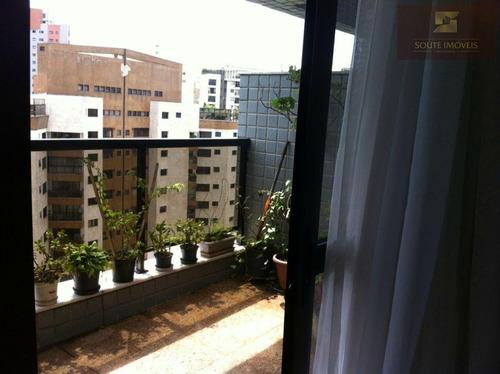 apartamento duplex residencial à venda, vila andrade, são paulo - ad0004. - ad0004