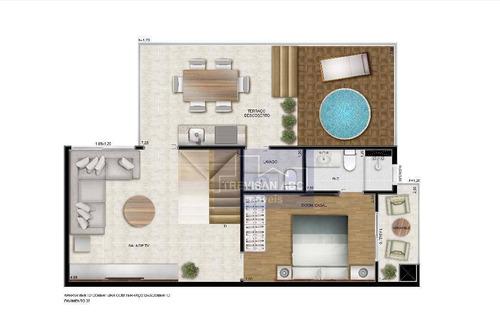 apartamento duplex residencial à venda, vila baeta neves, são bernardo do campo. - codigo: ad0004 - ad0004