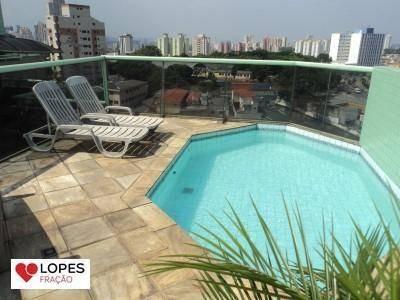 apartamento duplex residencial à venda, vila formosa, são paulo. - ad0016