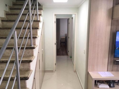 apartamento duplex residencial à venda, vila são joão, barueri. - ad0007