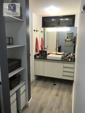 apartamento duplex à venda, 98 m² por r$ 450.000,00 - jardim - santo andré/sp - ad0017