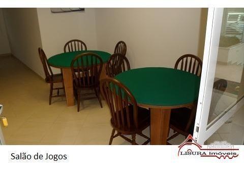 apartamento ed titanium centro de jacarei -sp para locação - 6877