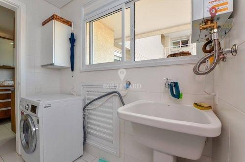 apartamento edifício botânica mobiliado vende 3 quartos 2 vagas no jardim botânico - ap0143