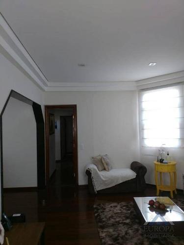 apartamento edifício costa do caribe duplex com 4 dormitórios à venda, 476 m² por r$ 1.500.000 - centro - londrina/pr - ad0001