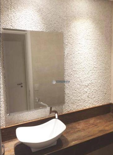 apartamento edifício ideale com 4 dormitórios, 3 suítes à venda, 189 m² - vila adyana - são josé dos campos/sp - ap3473