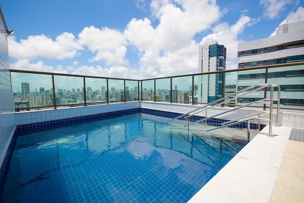apartamento em aflitos, recife/pe de 33m² 1 quartos à venda por r$ 240.000,00 - ap339042