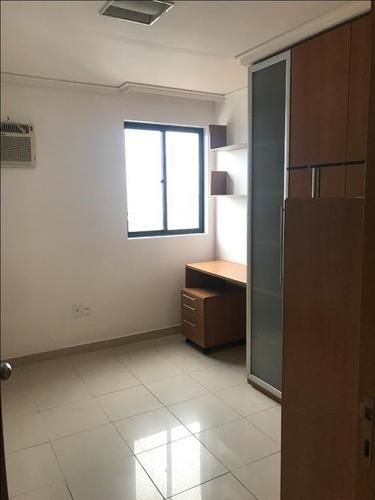 apartamento em aflitos, recife/pe de 80m² 3 quartos para locação r$ 1.945,00/mes - ap269777
