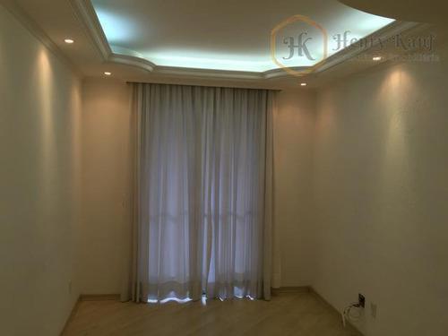 apartamento em andar alto com 2 dormitórios e 1 vaga, tatuapé, são paulo. - ap1025