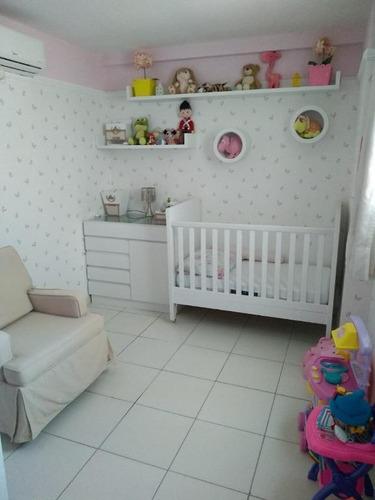 apartamento em bancários, joão pessoa/pb de 71m² 3 quartos à venda por r$ 380.000,00 - ap211410