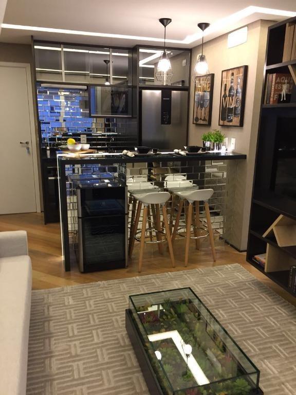 apartamento em bosque maia, guarulhos/sp de 38m² 1 quartos à venda por r$ 268.000,00 - ap237651
