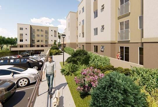 apartamento em braga, são josé dos pinhais/pr de 63m² 2 quartos à venda por r$ 180.000,00 - ap457496