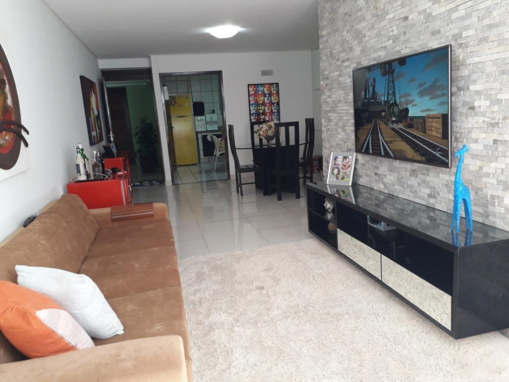 apartamento em cabo branco, joão pessoa/pb de 126m² 3 quartos à venda por r$ 700.000,00 - ap301000