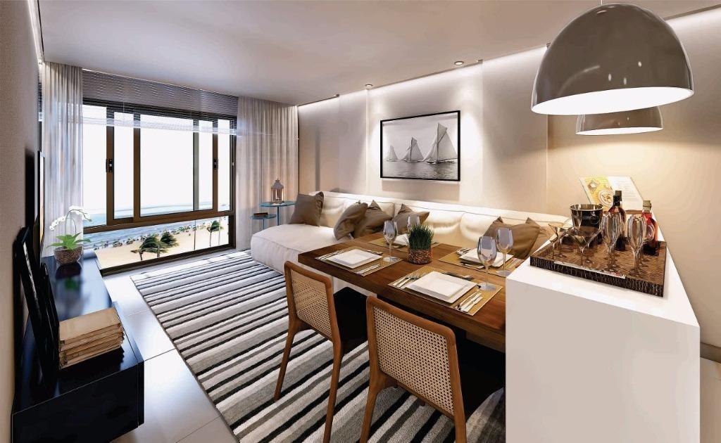 apartamento em cabo branco, joão pessoa/pb de 24m² 1 quartos à venda por r$ 322.689,00 - ap300388