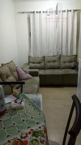 apartamento em cajamar, portal dos ipês - ap0098