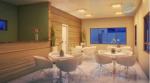 apartamento em capim macio com 2 quartos - rodolfo helinski - ap0030