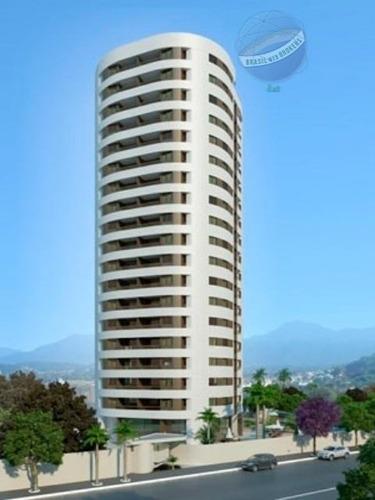 apartamento em capim macio, com 3 quartos - edifício maria bernadete - ap0046
