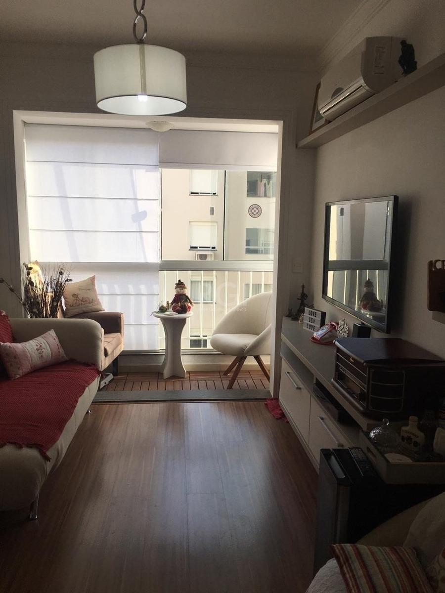 apartamento em centro com 2 dormitórios - ot7078