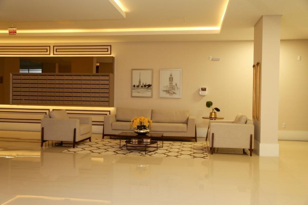 apartamento em centro, palhoça/sc de 126m² 3 quartos à venda por r$ 583.339,00 - ap324388