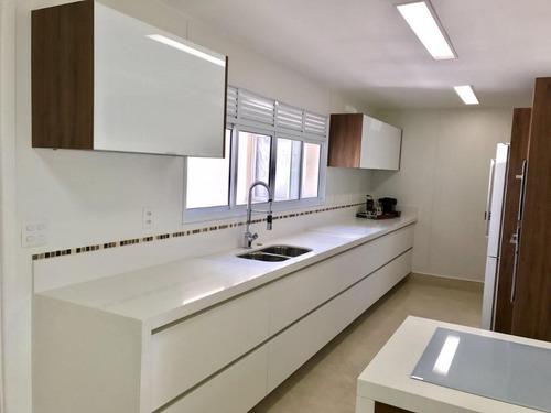 apartamento em centro, são bernardo do campo/sp de 237m² 4 quartos à venda por r$ 1.800.000,00 - ap205670