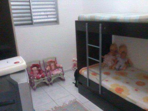 apartamento em condomínio fechado - ref 4348
