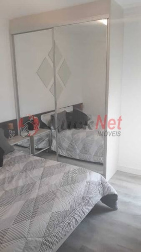 apartamento em condomínio padrão para venda no bairro baeta neves - 5159