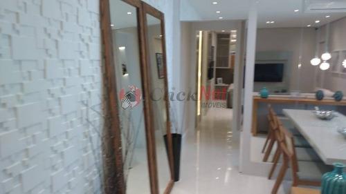 apartamento em condomínio padrão para venda no bairro baeta neves em são bernardo - 4376