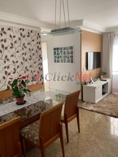 apartamento em condomínio padrão para venda no bairro baeta neves em são bernardo - 5169