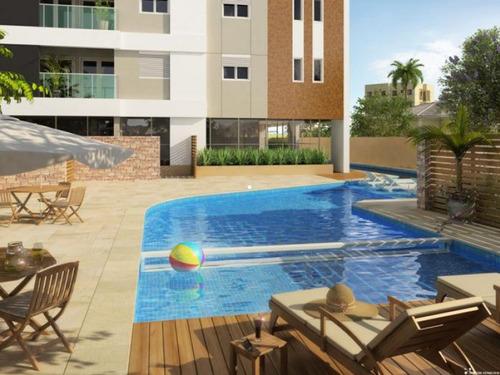 apartamento em condomínio padrão para venda no bairro barcelona - 7696am