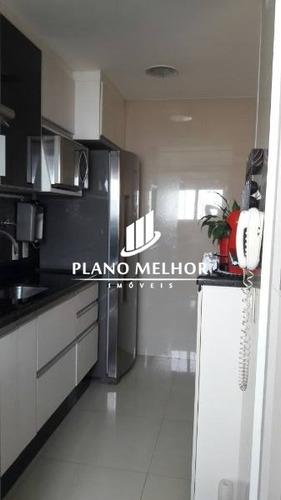 apartamento em condomínio padrão para venda no bairro engenheiro goulart, 2 dorm, 0 suíte, 1 vagas, 46 m.ap1061 - ap1061