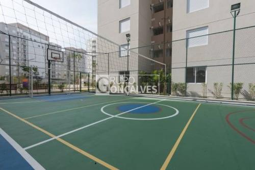 apartamento em condomínio padrão para venda no bairro parque são lucas, 2 dorm, 1 vagas, 45 a 60 m - 4132