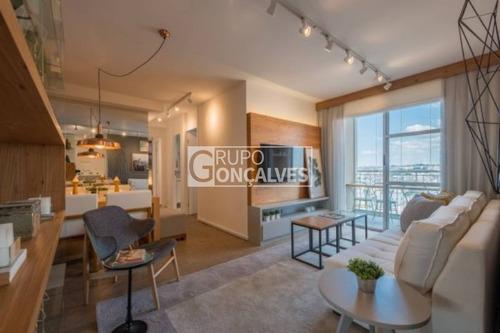 apartamento em condomínio padrão para venda no bairro parque são lucas, 2 dorm, 1 vagas, 51 a 70 m, venha nos fazer uma visita! - 4126