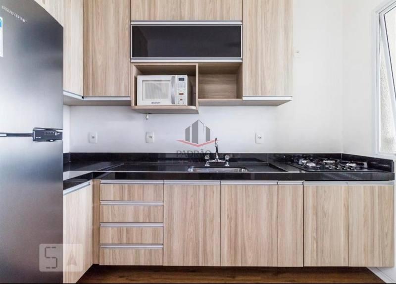 apartamento em condomínio padrão para venda no bairro tatuapé, 01 dorm, 01 vaga, 50,00 m², apto mobiliado e decorado, lindo . - 1681