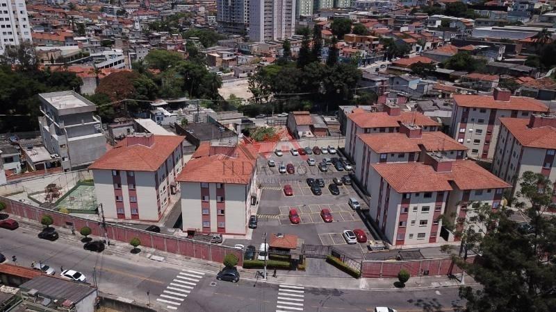 apartamento em condomínio padrão para venda no bairro vila carmosina, 55,6m m - 67