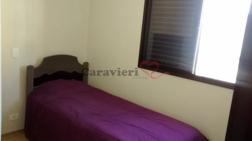 apartamento em condomínio padrão para venda no bairro vila gomes cardim, 2 dorm, 1 suíte, 2 vagas, 81 m - 12268