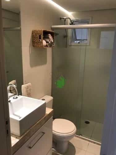 apartamento em condomínio padrão para venda no bairro vila ipojuca, 3 dorm, 1 suíte, 2 vagas, 86 m - 1119