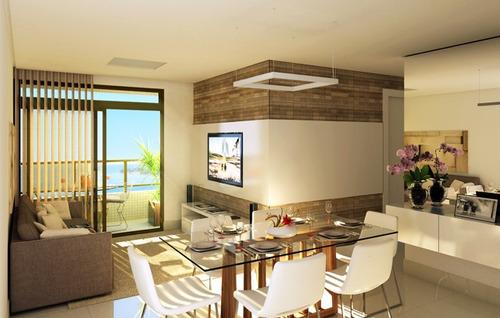 apartamento em construção, joão pessoa, altiplano, 3 quartos