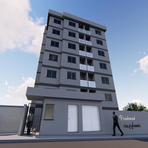 apartamento em construção no bairro salto weissbach, construtora aceita parcelamento da entrada e financiamento pelo minha casa minha vida. - 3577504