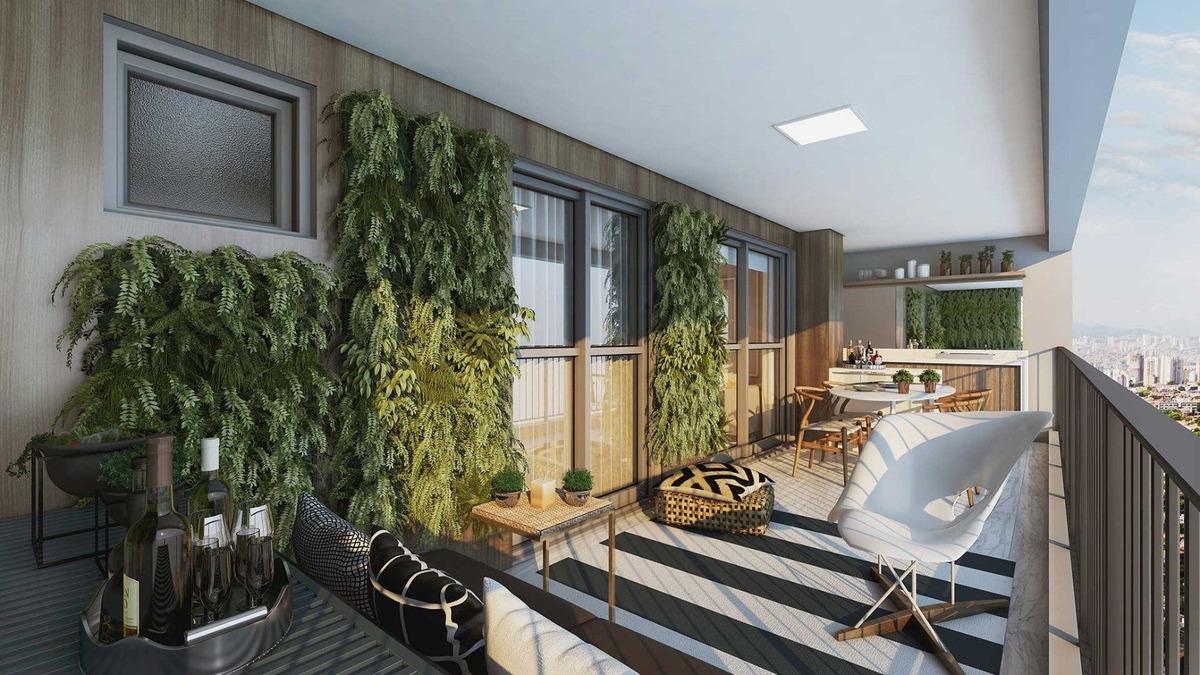 apartamento em construção no tatuapé 105m² the gardens tatuapé,