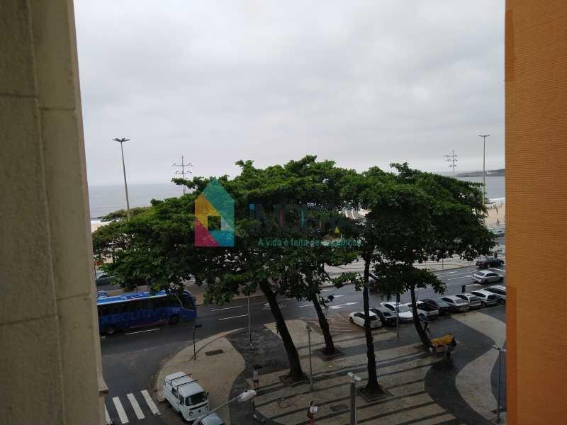 apartamento em copacabana vista mar , na quadra da praia de 3 quartos!!! - cpap20804